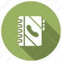 addressbook, callbook, contactbook, records icon