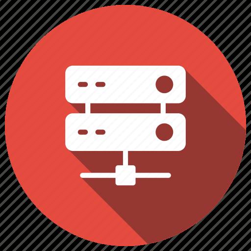 computing, datacenter, hosting, server, storage icon