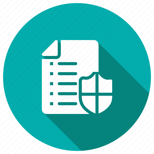 datasecurity, documents, files, lock, security icon