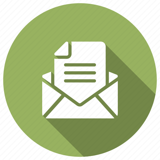 email, inbox, mail, message, open icon