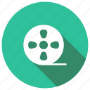cinema, film, reel, tape icon