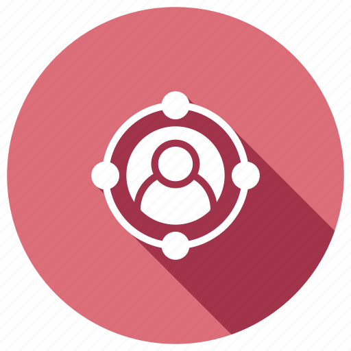 focus, selection, target, user icon