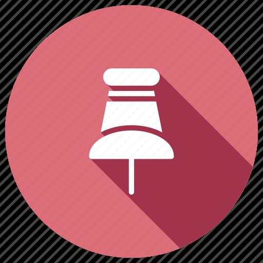 attach, attachment, clip, page, pin icon