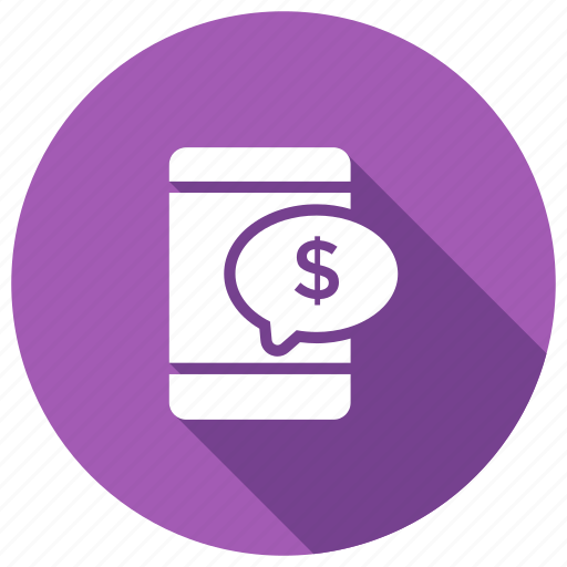 dollar, mobile, onlinepeyment, payment icon