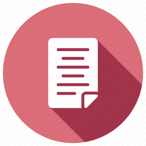 document, file, information, page, storage icon