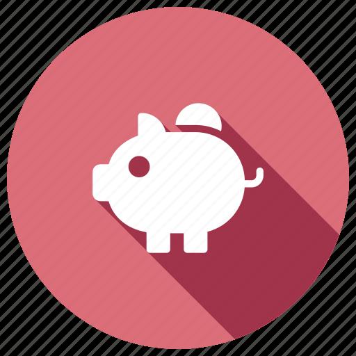 bank, cash, piggybank, savings icon