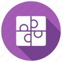 planning, puzzle, solutions, strategy icon