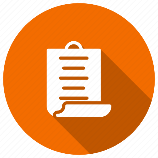 document, file, information, report icon
