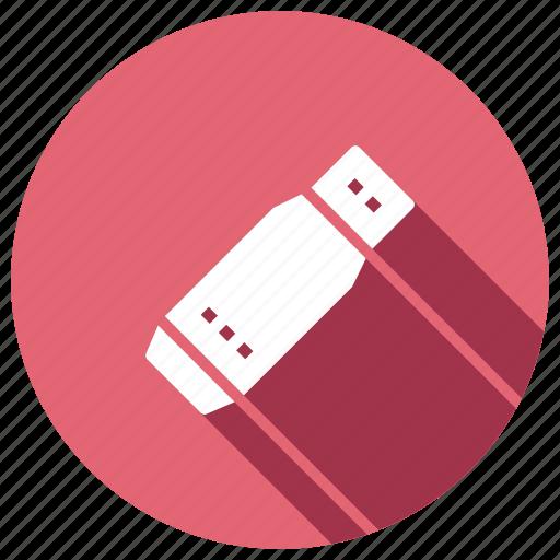 flash, memory, portable, usb icon