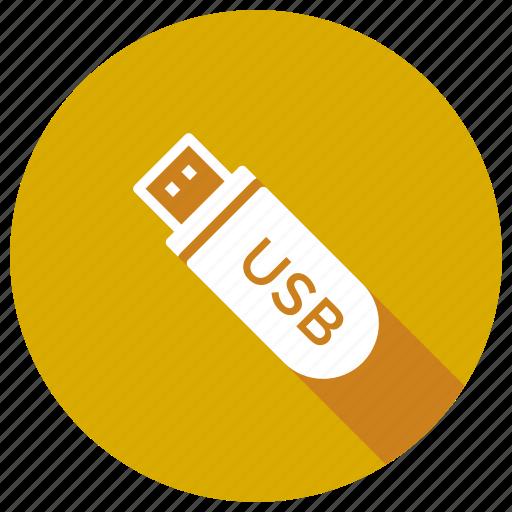drive, flash, memory, portable, usb icon