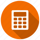 banking, calculation, calculator, math icon