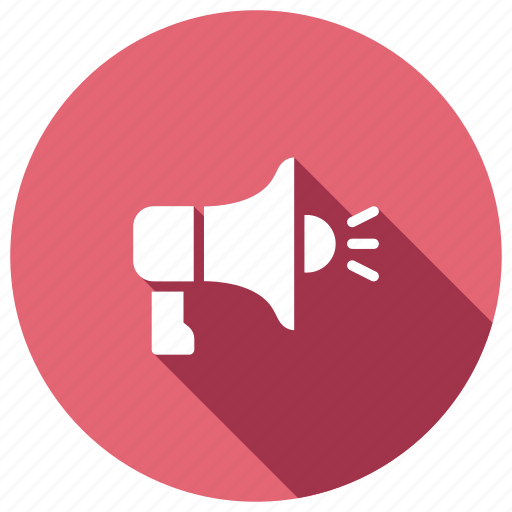 advertising, announcement, marketing, megaphone, speaker icon