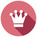 award, badge, crown, rank icon