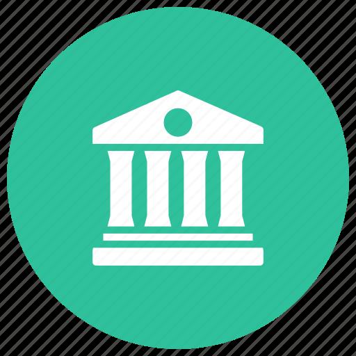 bank, building, finance, money, savings icon