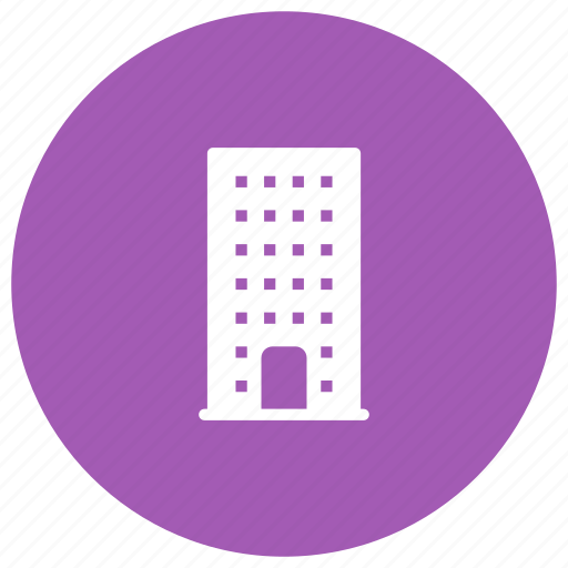 building, estate, hotel, office icon