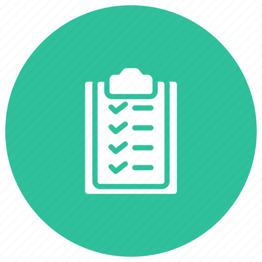Checklist, clipboard, form, office icon - Download on Iconfinder