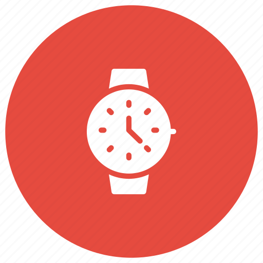 clock, schedule, time, wristwatch icon