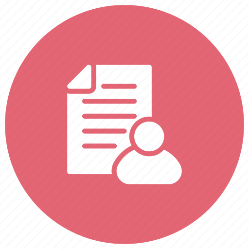 cv, document, file, form icon