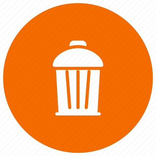 delete, garbage, recyclebin, trash icon