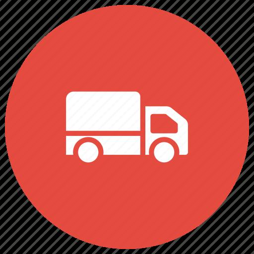 automobile, delivery, transport, truck, van icon