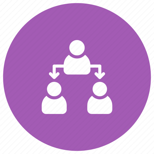 group, leader, management, organization, team icon