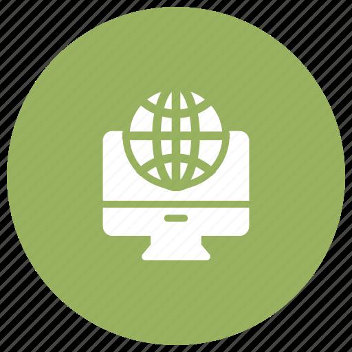 global, international, online, world icon