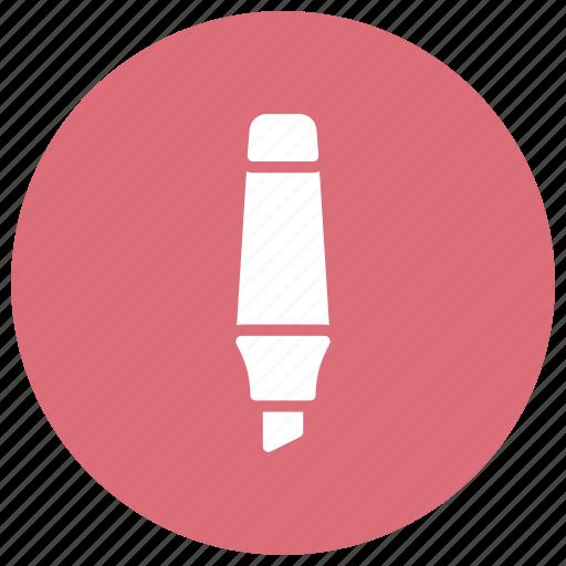 highlighter, marker, pencil, text icon