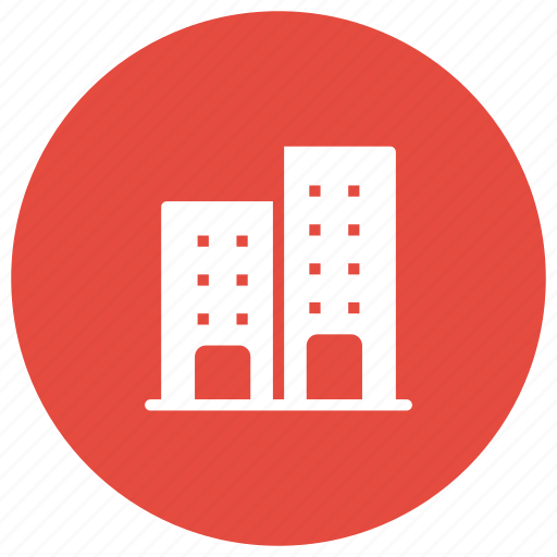 building, estate, office, property icon