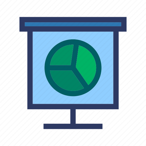 business, chart, finance, office, report icon