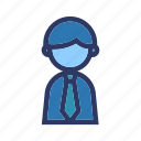 business, finance, office, person, worker icon