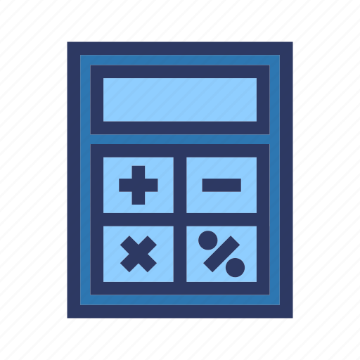 business, calculator, finance, office icon