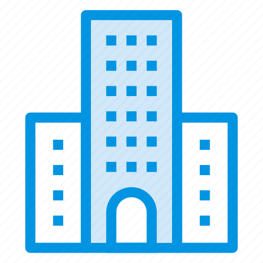 building, estate, office, real icon