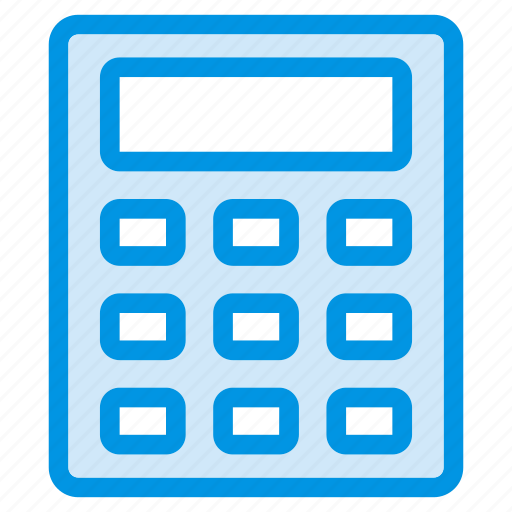 Banking, calculation, calculator, math icon - Download on Iconfinder