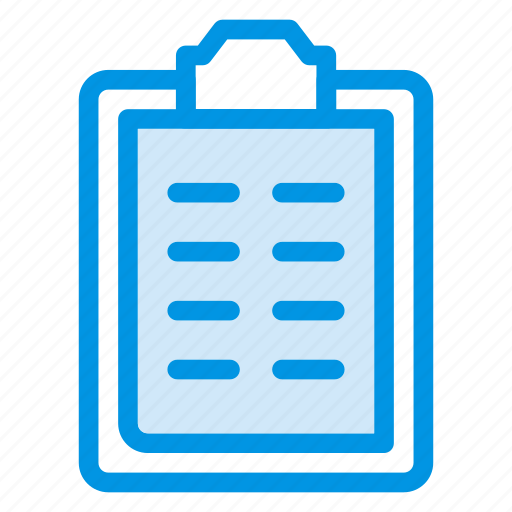 audit, clipboard, contract, form icon
