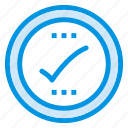 checkmark, complete, done, ok icon