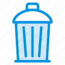 delete, garbage, recyclebin, trash icon
