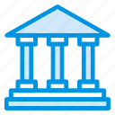 bank, building, cash, finance, savings icon