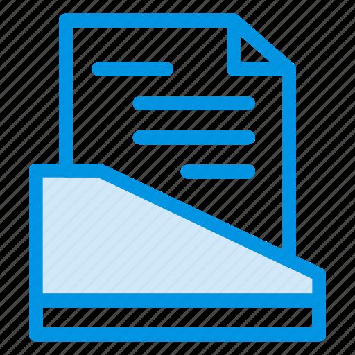 box, cabinet, document, file icon
