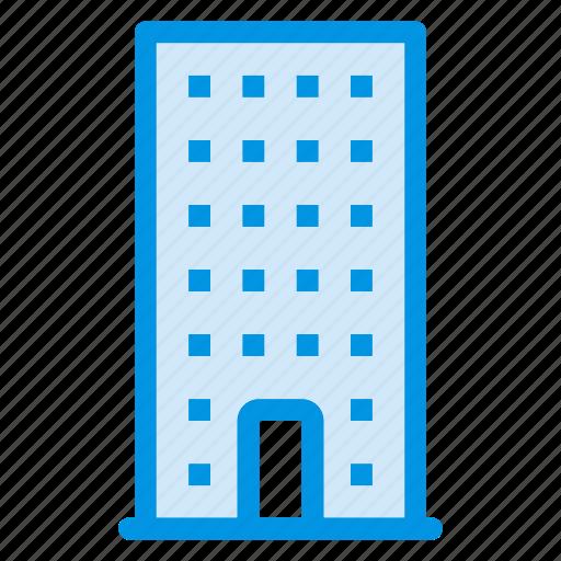 building, estate, hotel, office icon