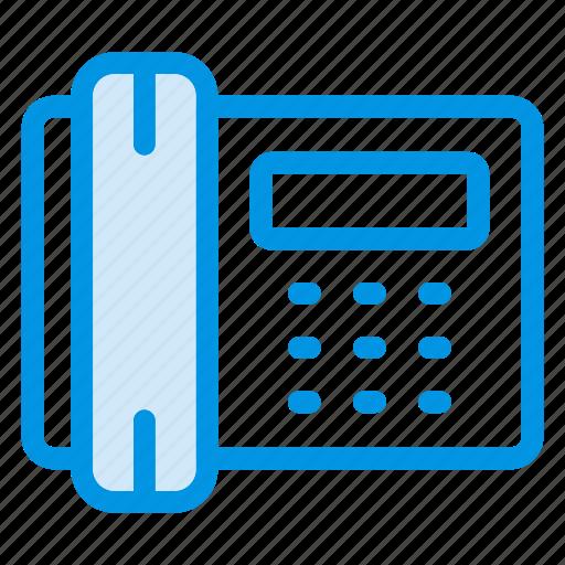call, landline, phone, ringing icon