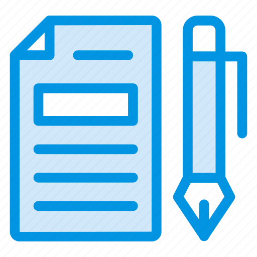 document, file, newfile, page icon