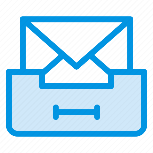 email, inbox, incoming, message icon