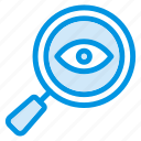 eye, search, seen, view icon