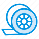 cinema, film, media, reel, tape icon