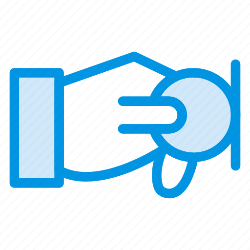 coin, finance, hand, pay, payment icon