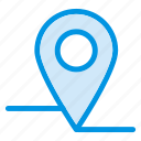 gps, location, map, navigation, pin