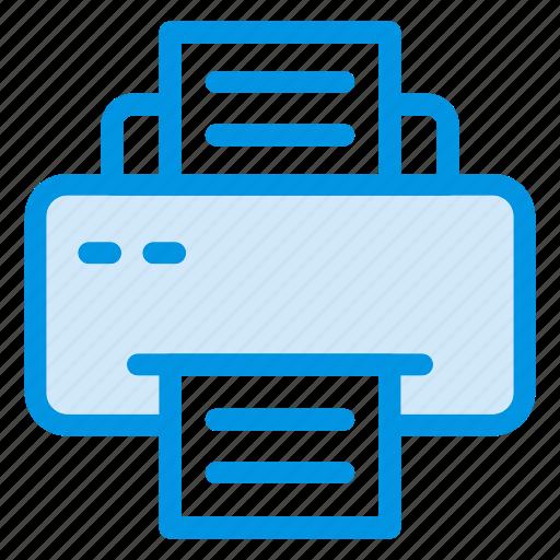 copy, fax, print, printer icon