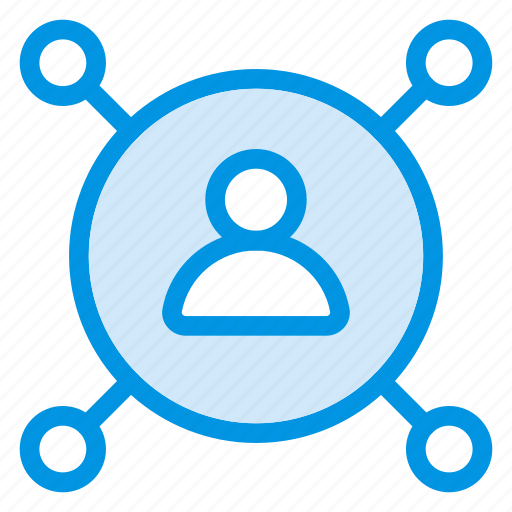 avatar, connect, share, user icon