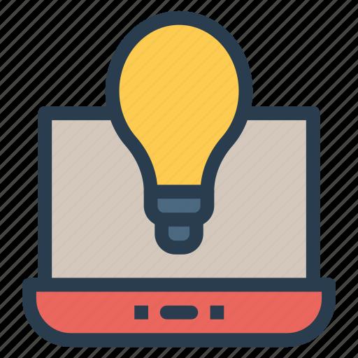 bright, bulb, creative, idea, light icon