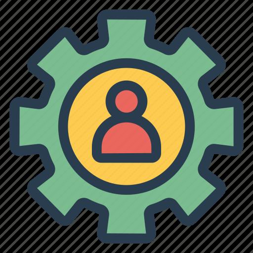 account, control, setting, user icon